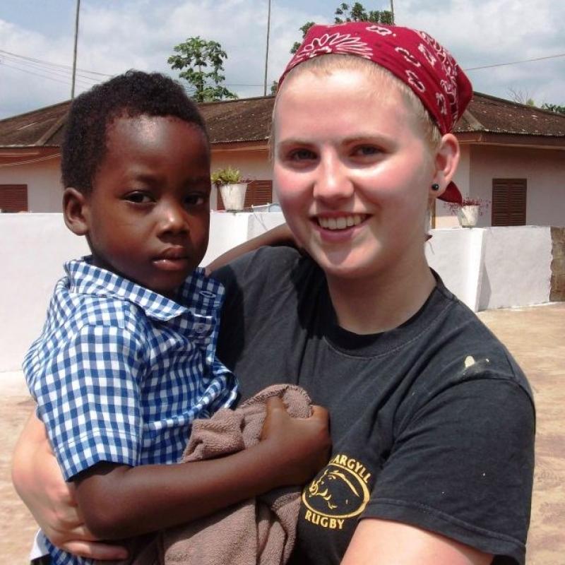 Mary S in Ghana